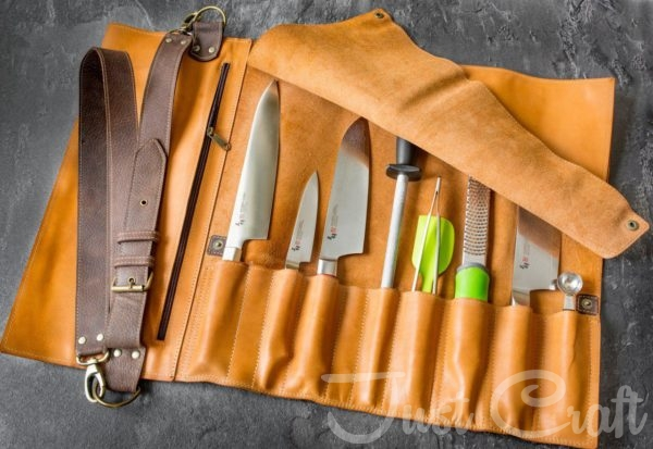 Скрутка для ножей Just Craft Краст Терракота
